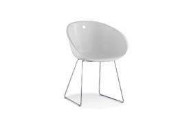 chaise visiteur blanche bureau professionnel